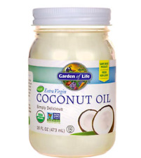 Keto: Low carb Raw Extra Virgin Coconut Oil 16oz (0 carbs)