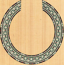 CLASSICAL GUITAR  ROSETTE,SOUND HOLE, WATERSLIDE DECAL/STICKER MK-17