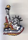 RARE PINS PIN'S .. TOURISME USA STATUE LIBERTE LIBERTY NEW YORK DEFI CEVENOL ~CK