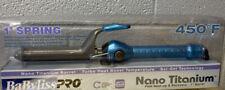 BaBylissPRO Nano Titanium Spring Curling Iron