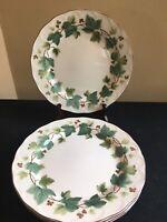 "SET OF 4 Nikko GREENWOOD 10-1/4"" Dinner Plates"