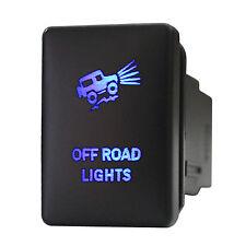 Push switch 929B 12volt Toyota OFF ROAD LIGHTS Tundra Tacoma RAV4 LED BLUE 3A