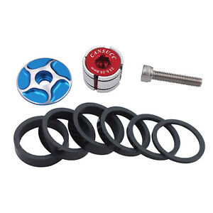 Bike Headset Spacer Spacer Set Bike Accessory Durable Easy Installation