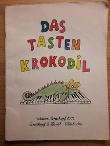 Klaviernoten Das Tastenkrokodil