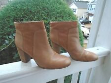 Kate Spade New York tan leather womens ankle boots sz 9M