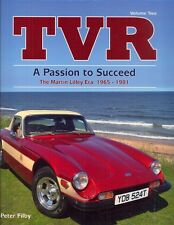 TVR A Passion to Succeed by Peter Filby - Vixen Tuscan M S Tasmin - superb book