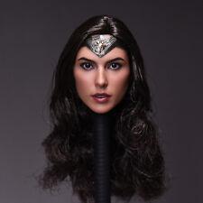 1/6 Gal Gadot Head Sculpt For PHICEN Hot Toys Female Figure body Wonder Woman