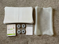 Nintendo Wii Fit Balance Board with Wii Fit Video Game and Silicone Case