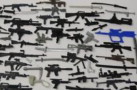 Random lot of 40 GI JOE Cobra Ninja figure's diffrerent Accessories weapons