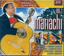 Mariachi vol. 2. Los Reyes De Mexico (2004) Box 3CD NUOVO. Candilejas. Czardas