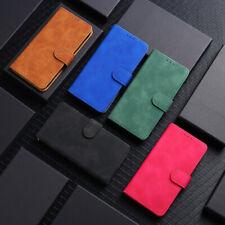 Luxury Matte Flip Leather Wallet Purse Card Slots Case Cover For LG K41S/K51S
