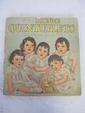 THE DIONNE QUINTUPLETS - WE'RE TWO YEARS OLD - BOOK