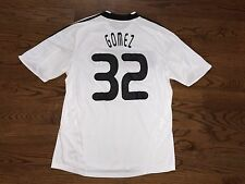 Men's XL adidas CLIMACOOL 2008-10 Germany Mario Gomez #32 Home Soccer Jersey