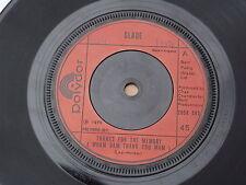 SLADE : Thanks For The Memory ( Wham Bam Thank You Mam ) : Polydor 2058 585