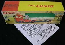 Dinky 914 AEC Artic BRS Lorry Empty Repro Box & Instns