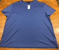Polo Ralph Lauren Classic Fit T Shirt Pony Logo Blue Men's XXL 2XL NWT  New