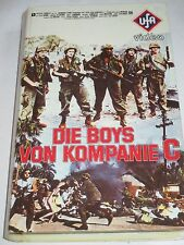 Die Boys von Kompanie C - VHS/Krieg/Andrew Stevens/UFA Video 3024/Hartbox