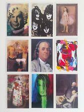MR. BRAINWASH RARE ORIGINAL POP ART EXHIBITION EVENT POSTCARD PRINTS - SET OF 9