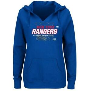 Too Cute! Licensed New York Rangers Pullover Hoodie Women's Plus Size 2X ___S81