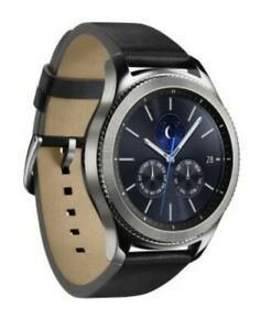 Samsung Gear S3 Frontier Stainless Steel SM-R770 Android Smart Watch***