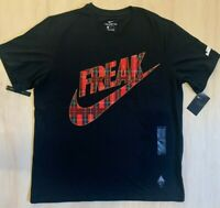 Nike Men's Giannis Antetokounmpo FREAK SS Basketball Tee Shirt CW4757 L XL