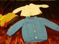 lot  poupée poupon de 35a 45cm ,gégé colin bella ,raynal   du tricoté vintage