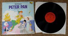 Peter Pan - Songs and Stories Disney LP - 3910 - VG+