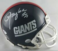 Lawrence Taylor autographed signed mini helmet NFL New York Giants PSA MVP