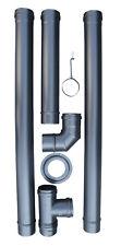 Kit D'Installation Poêle A Pellets - Granulés - WARM TECH - PAP-ACC9T- 74159788