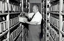 1966 Vintage Photo Dr. Leonell Strong and cancer research mice at Salk Institute
