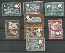 1946  TURKEY 69th  ANNIVERSARY OF KIZILAY RED CRESCENT  COMPLETE SET MNH OG LUX