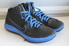 Nike 469756-002 Lunar Hypergamer Shoes RARE Black/Treasure Blue Mens Size 13 EUC