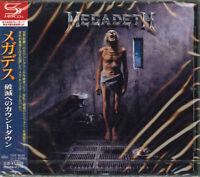 MEGADETH-COUNTDOWN TO EXTINCTION-JAPAN SHM-CD BONUS TRACK D50