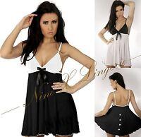 Nine X Ladies Plus Size Sexy Babydoll 10-28 M-8XL Lingerie Dress Nightwear