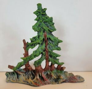 Lineol Elastolin Germany Vintage Trees Scenery Cowboys Indians Toy