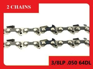 Chainsaw Chain Suit For Fit Shindaiwa 390sx 38cm Bar (2 x Chains)