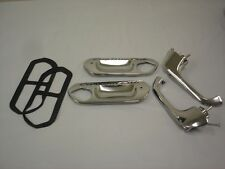 1961 to 1966 Ford Truck Door Handles w/ Push Buttons & Custom Cab Handle Plates