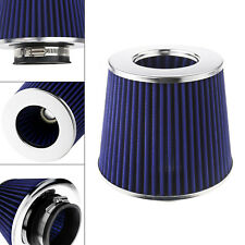 Car Truck SUV Cold Air Intake Filter Induction Kit Round Tapered System Carbon