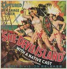 She Devil Isla Cartel 01 A4 10x8 impresión fotográfica