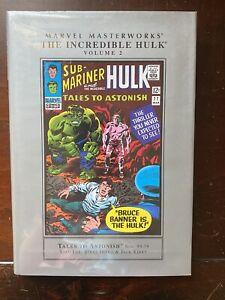 Marvel Masterworks INCREDIBLE HULK Vol 2 Tales to Astonish No 59-79 1st Print HC