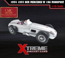 CMC M-006 1:18 1954 1955 DER MERCEDES W 196 MONOPOST DIECAST CAR