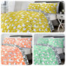 Fusion ALABAR Modern Floral Easy Care Duvet Set Bedding Quilt Cover Reversible
