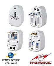 World  Mains International Travel Adapter Surge Protected For Over 150 Countries