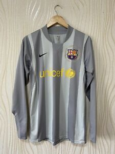 BARCELONA 2007 2008 GOALKEEPER FOOTBALL SHIRT JERSEY NIKE PLAYER ISSUE