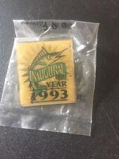 Florida Marlins MLB Lapel Hat Pin Inaugural Season 1993 Miami Marlins