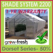 Greenhouse Green House Hot SHADE SHADING CLOTH COVER KIT MESH UV ALUMINET 2.2