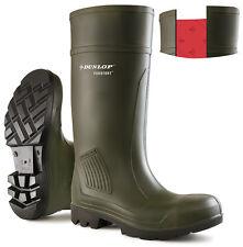 Dunlop Purofort Kalt Isolier-und Volle Sicherheit Regenstiefel