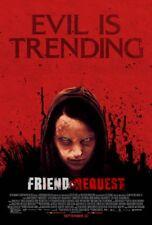 Friend Request - original DS movie poster - D/S 27x40 Horror