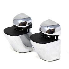 Paar verstellbare Glas Regal Klammern Poliert Chrom 4 - 20mm Regal Dicke