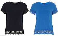Dorothy Perkins Women's Hip Length Short Sleeve Sleeve Casual Tops & Shirts